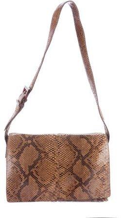 pradaPrada Pitone Messenger Bag