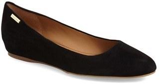 Women's Calvin Klein 'Machia' Hidden Demi Wedge Skimmer $118.95 thestylecure.com