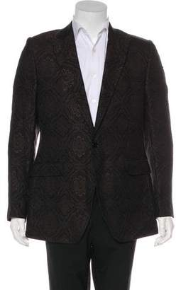 Dolce & Gabbana Silk & Wool Blazer