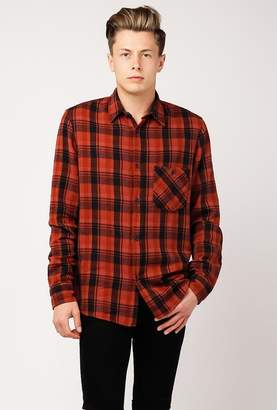 Nudie Jeans Sten Overdyed Check Long Sleeve Shirt
