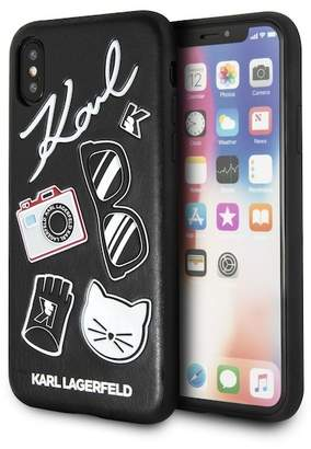 Karl Lagerfeld Embossed Hard Case iPhone Case