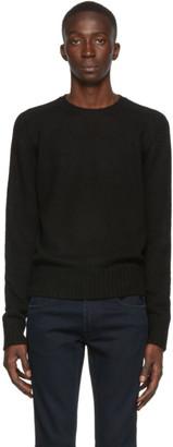 Prada Black Shetland Raglan Sleeve Sweater
