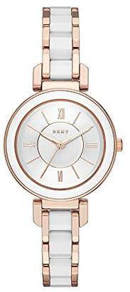 DKNY Women's 'Ellington' Quartz and Stainless-Steel-Plated Casual Watch