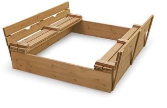 Badger Basket Covered Convertible Cedar Sandbox