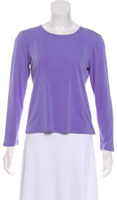 Eileen Fisher Long Sleeve Silk Top