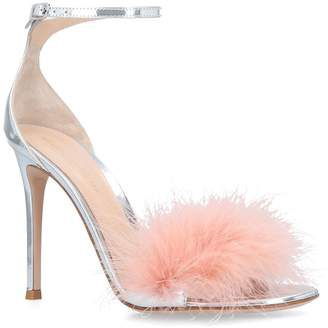 Gianvito Rossi Feather Bliss Sandals 105