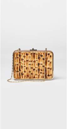 J.Mclaughlin Kelly Bamboo Clutch