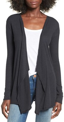 Volcom 'Lived In' Rib Knit Cardigan $35 thestylecure.com