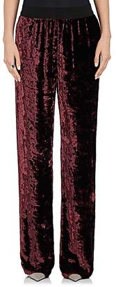 Maison Margiela WOMEN'S CRUSHED VELVET EVENING PANTS