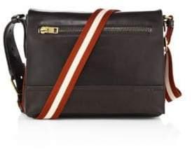 Bally Tamrac Leather Messenger Bag