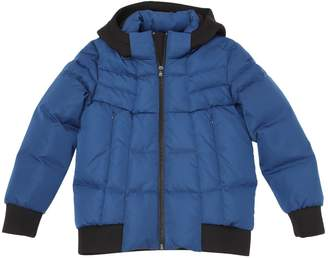 HUGO BOSS Hooded Nylon Down Jacket