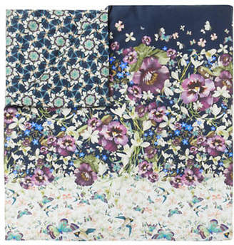 Ted Baker Entangled Cotton Sham & Duvet Cover Set