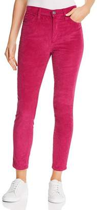 Current/Elliott The Stiletto High-Rise Corduroy Skinny Jeans in Wild Aster