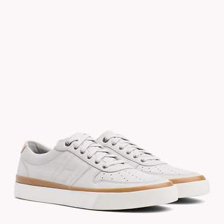 Tommy Hilfiger Unlined Nubuck Leather Trainers