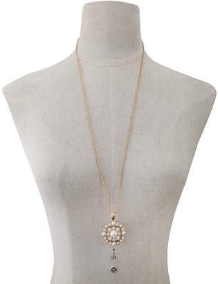 MONET JEWELRY Monet Jewelry Id Clip Womens Pendant Necklace