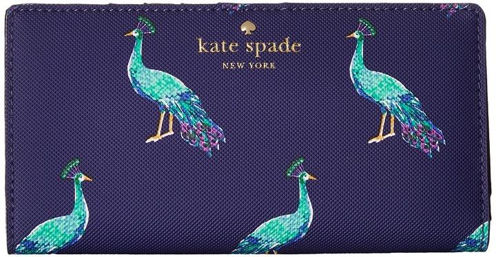 Kate SpadeKate Spade New York - Harding Street Peacock Stacy Wallet