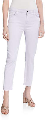7 For All Mankind Jen7 by Sateen Ankle Skinny Jeans