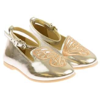 Sophia Webster MiniSilver Metallic Butterfly Shoes