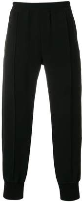 Alexander McQueen piped track pants