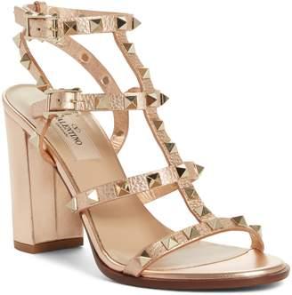 Valentino Rockstud T-Strap Sandal