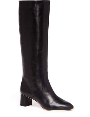 Rebecca Taylor Loeffler Randall Gia Almond Toe Mid Heel Tall Boot
