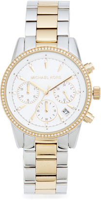 Michael Kors Ritz Watch $250 thestylecure.com