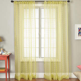 JCPenney SOFTLINE HOME FASHIONS Pali Rod-Pocket Sheer Panel
