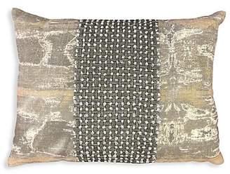 Callisto Home Printed Linen Pillow