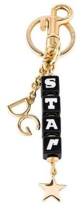 Dolce & Gabbana Brass Star Keyring