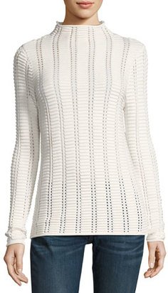 French Connection Mozart Ladder-Stitch Sweater $98 thestylecure.com