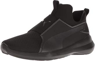 Puma Women's Rebel Mid Cross Trainers, Black