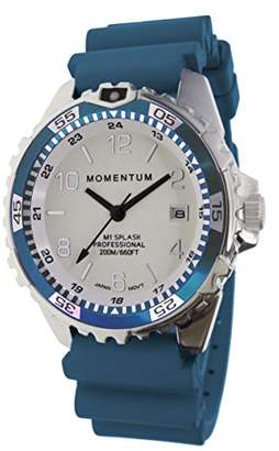 Momentum Women's Quartz Watch   M1 Splash by Momentum  Stainless Steel Watches for Women   Dive Watch with Japanese Movement & Analog Display   Water Resistant Ladies Watch with Date –Lume/ Rubber