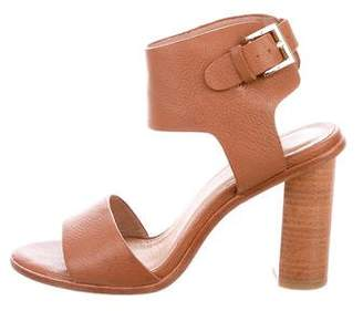 Joie Leather Ankle Strap Sandals