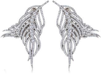 Hermes Feather Earrings