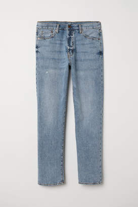 H&M Straight Jeans - Blue