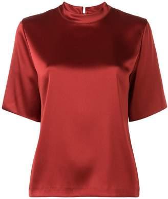 Nanushka satin T-shirt