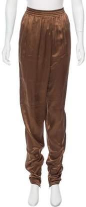 Lanvin High-Rise Skinny-Leg Pants