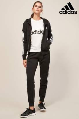 Next Womens adidas Essential 3 Stripe Full Zip Hoody