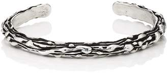 Dean Harris Men's Enigma Sterling Silver Cuff