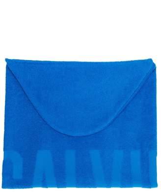 Calvin Klein Kids hooded towel