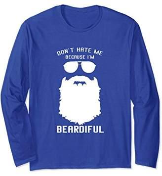 The Beard Shirts Long Sleeve Mens for The Bearded Man Club