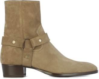 Saint Laurent Harness Boots