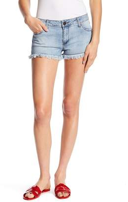 STS Blue Frayed Trim Shorts