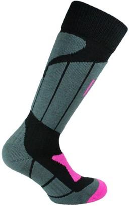 Norfolk 1-Pk Midweight Merino Wool Climayarn Ladies Ski Socks