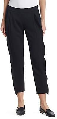 Akris Punto Women's Cropped Ruffle Pants