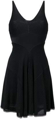 Alexander Wang short ribbed dress