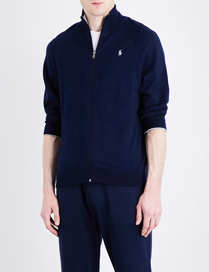 Polo Ralph Lauren Polo Ralph Lauren Zip-up pure-cotton cardigan