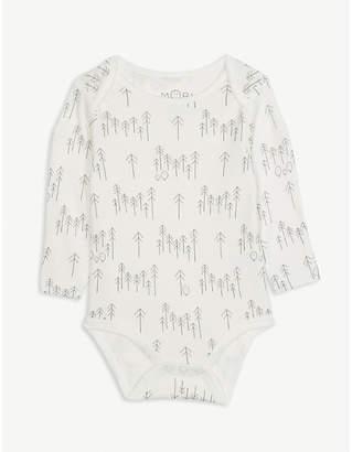 BABY MORI Forest print bodysuit 0-12 months