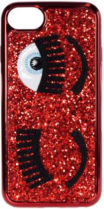 Chiara Ferragni Glitter Iphone 8 Cover
