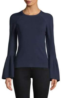 Jonathan Simkhai Bell-Sleeve Knit Sweater